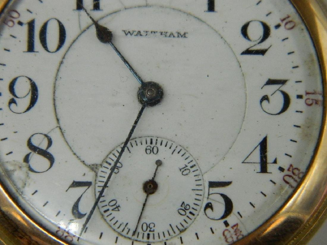 c. 1906 Waltham Model 1899 21 Jewel Openface Pocket