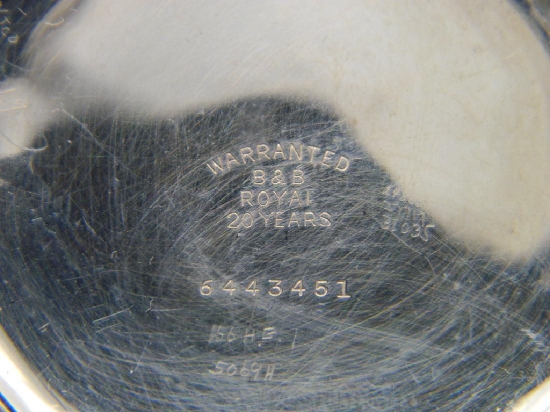 c. 1906 Waltham Model 1899 21 Jewel Openface Pocket - 9