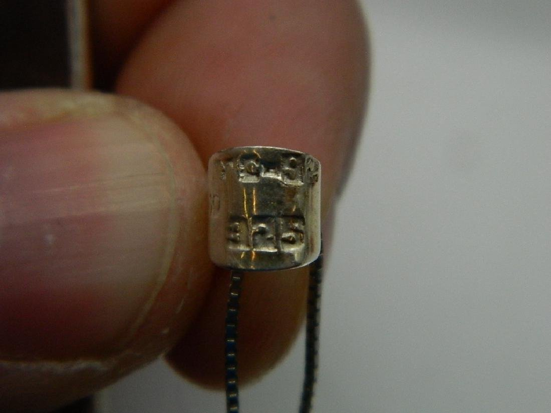 Taxco Large Sterling Silver Crucifix - 5