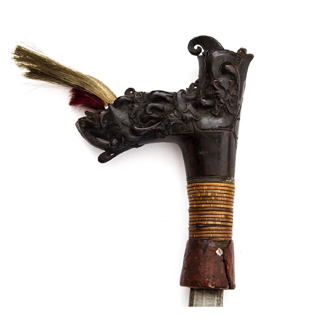 MANDAU SWORD, BORNEO, 19TH C. - 14