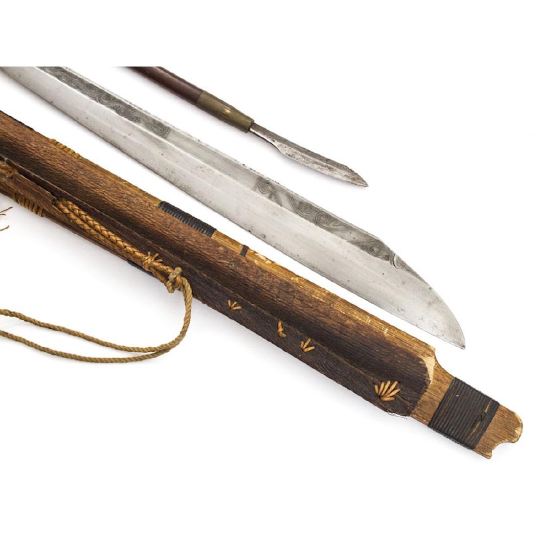 MANDAU SWORD, BORNEO, 19TH C. - 3
