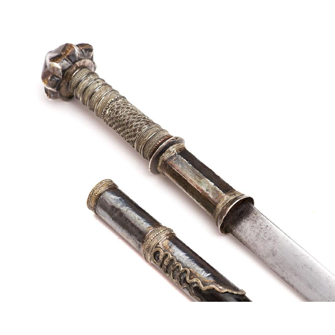 DHA SWORD DAGGER, 19TH C. - 9