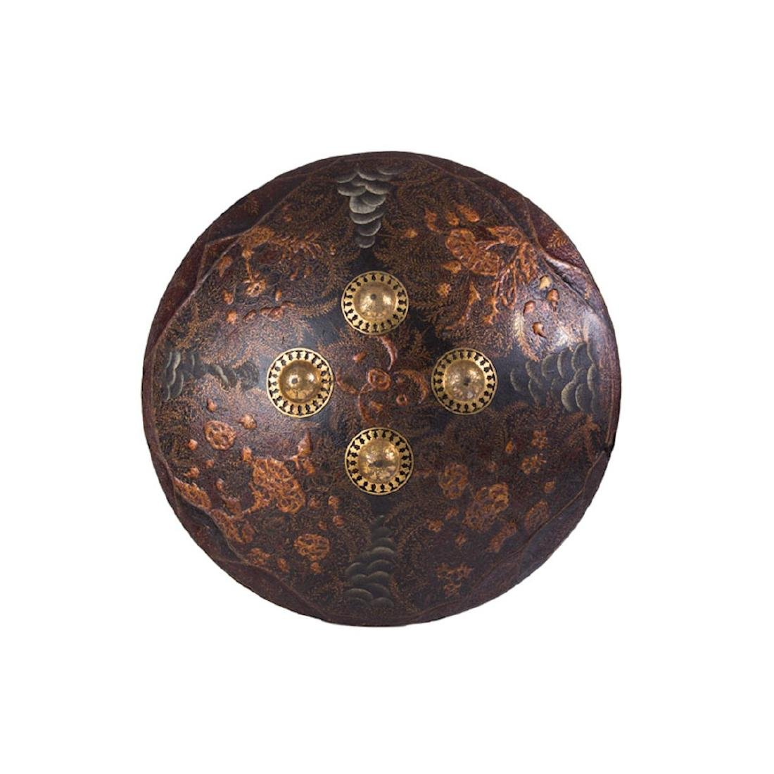 INDIAN DHAL SHIELD, 19TH C.