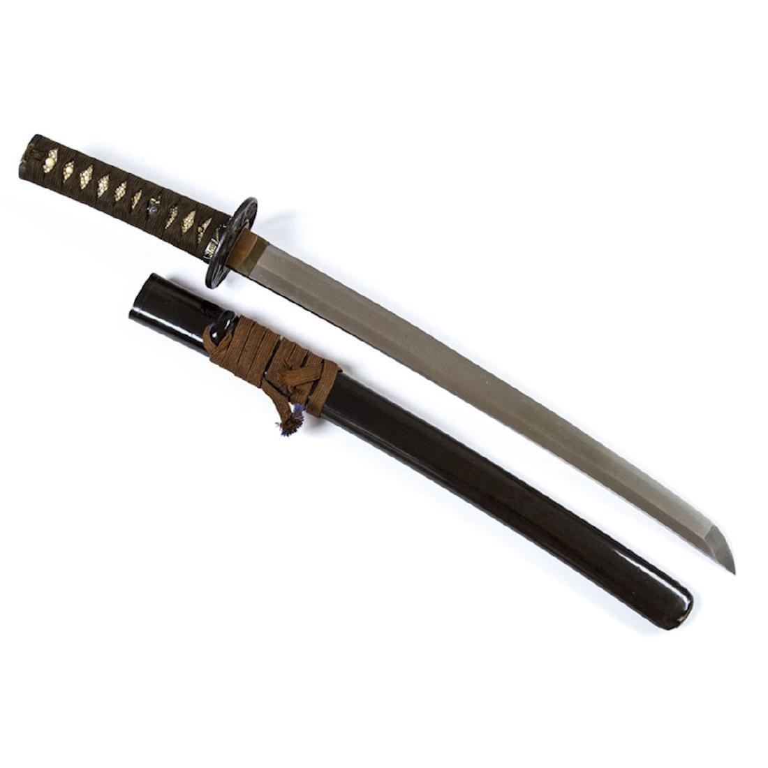 JAPANESE WAKIZASHI SWORD - 3
