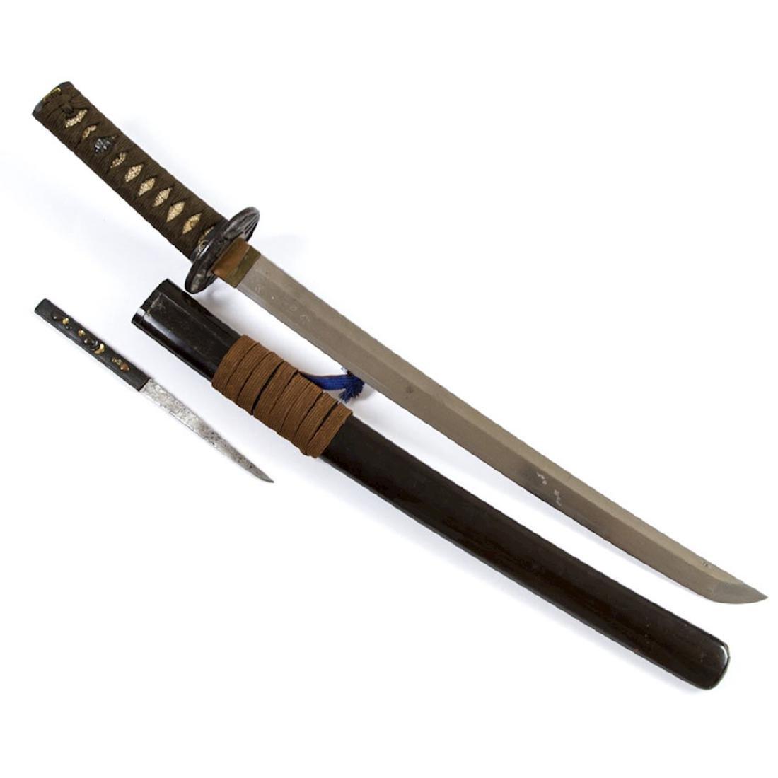 JAPANESE WAKIZASHI SWORD - 4