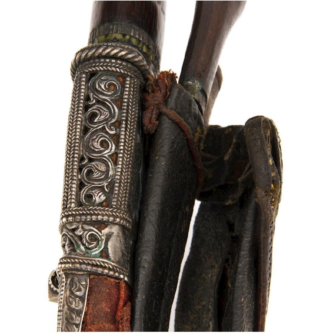 SILVER MOUNTED KUKRI KNIFE, NEPAL, 19TH C. - 3