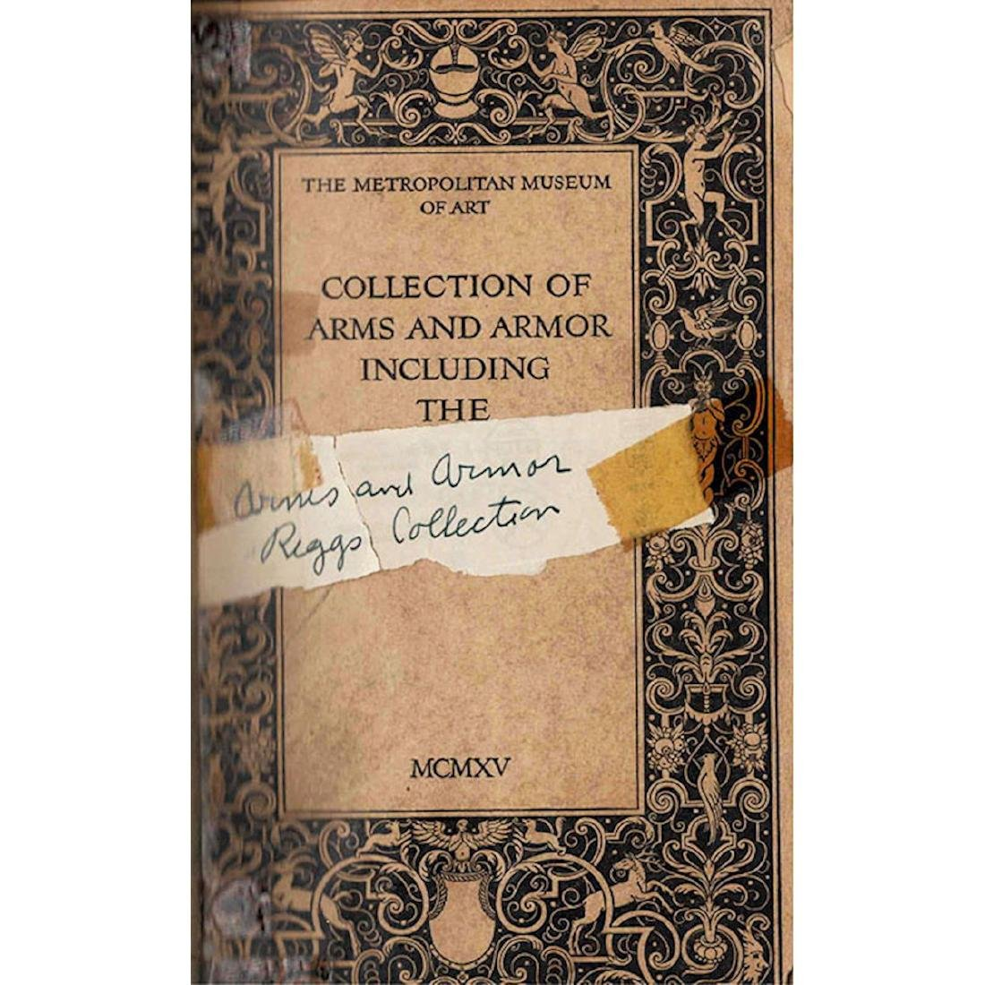 SET OF TWO BOOKS ON ANTIQUE ARMS AND ARMOR - 2