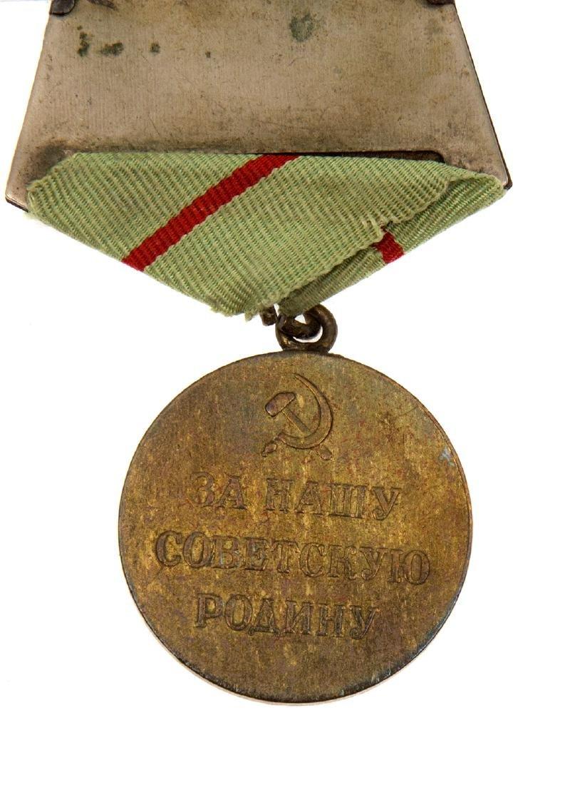 SOVIET MEDAL FOR THE DEFENCE OF STALINGRAD - 3
