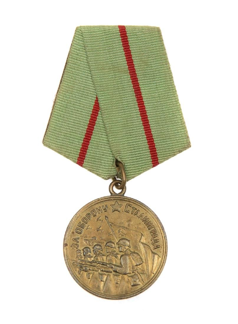 SOVIET MEDAL FOR THE DEFENCE OF STALINGRAD