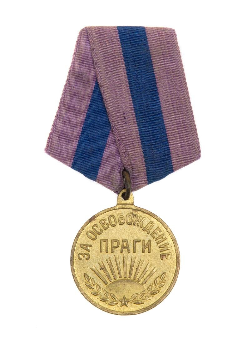 SOVIET MEDAL FOR THE LIBERATION OF PRAGUE