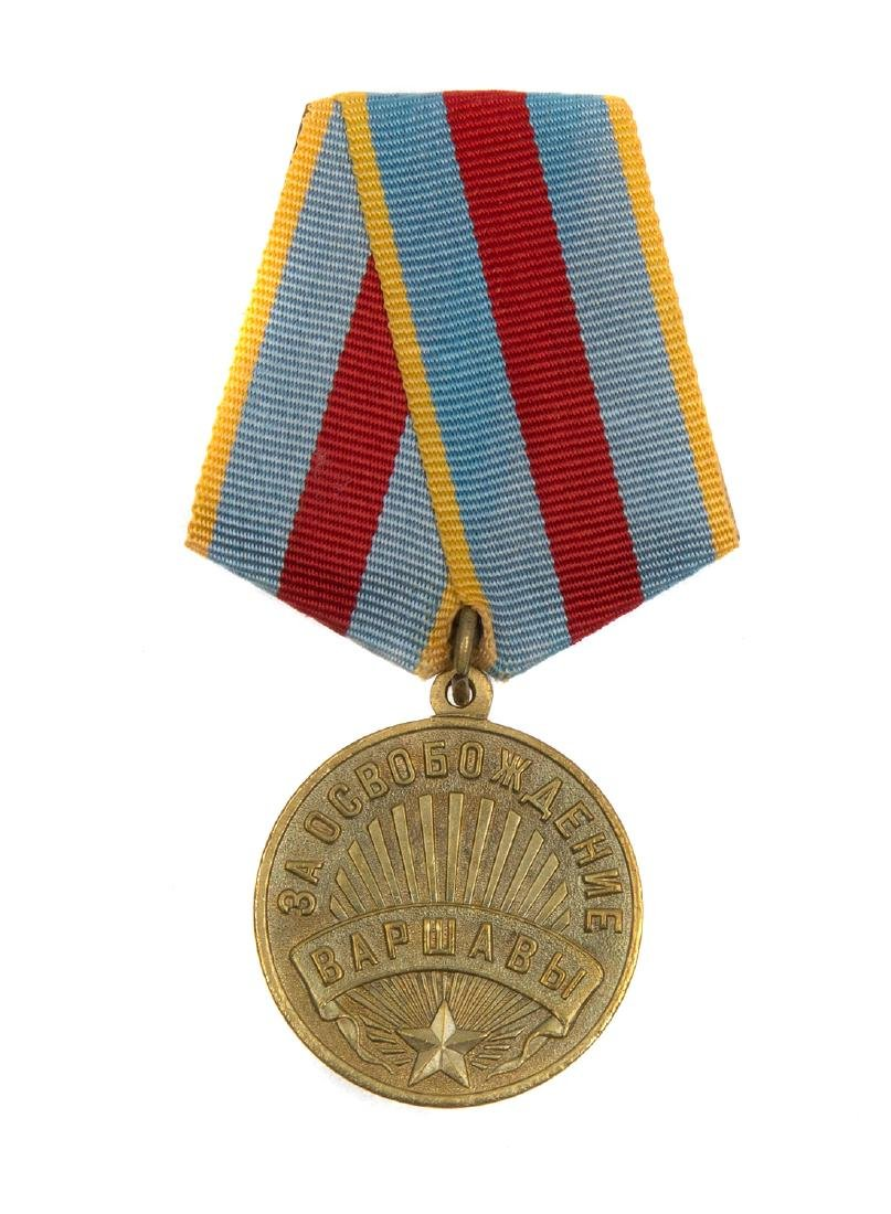 SOVIET MEDAL FOR THE LIBERATION OF WARSAW