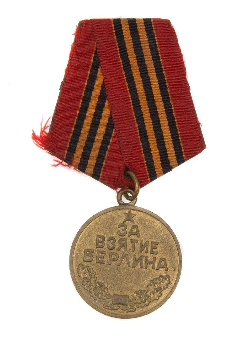 SOVIET MEDAL FOR THE CAPTURE OF BERLIN