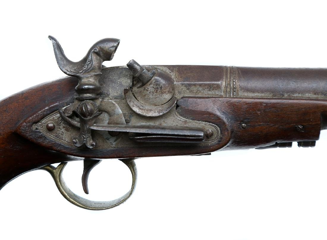 SPANISH PERCUSSION PISTOL, 19TH CEN. - 4