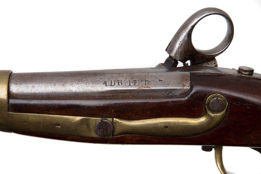 SCHLESWIG-HOLSTEIN ARTILLERY PERCUSSION PISTOL M. 1848 - 4