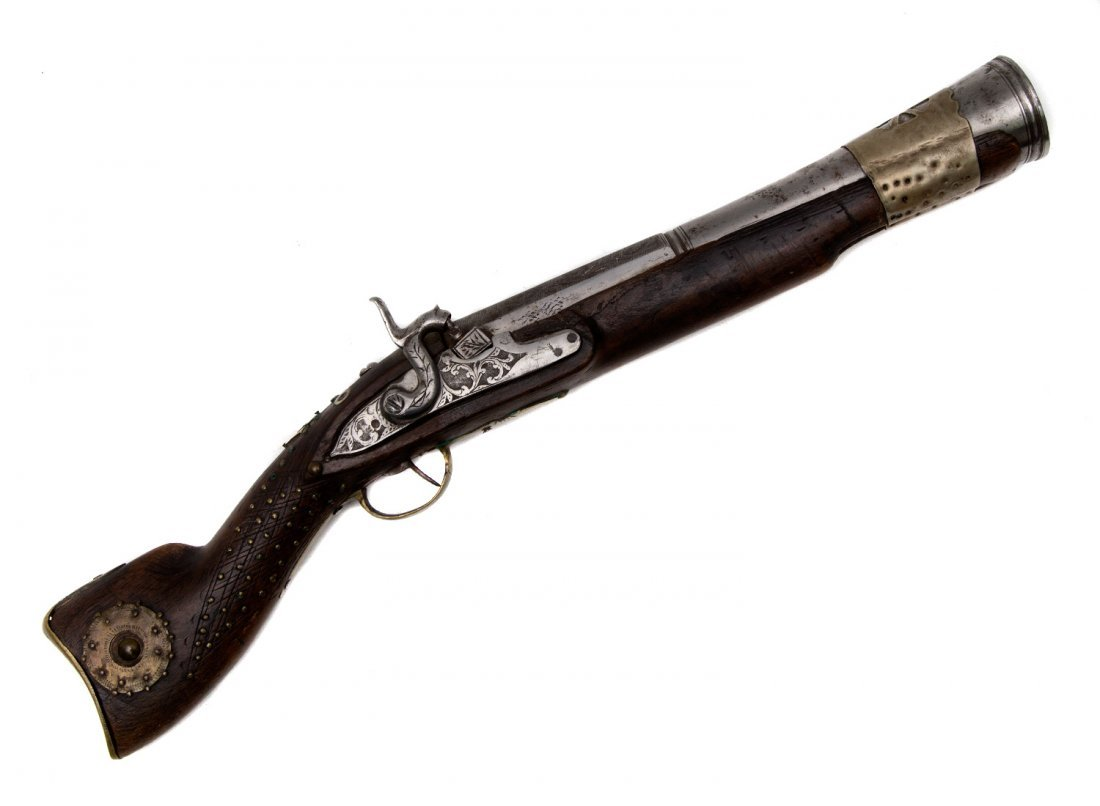 MIDDLE EASTERN BLUNDERBUSS, 19TH CEN.