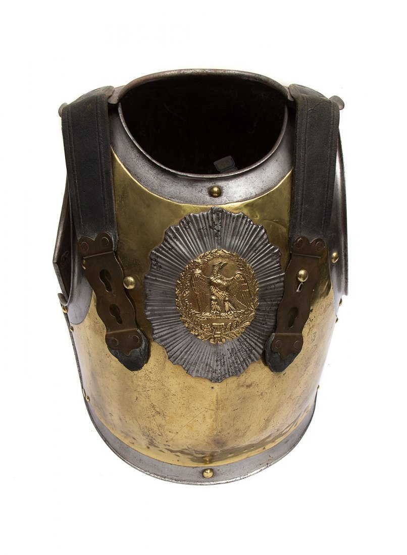 FRENCH CARABINIER OFFICER'S CUIRASS, SECOND EMPIRE
