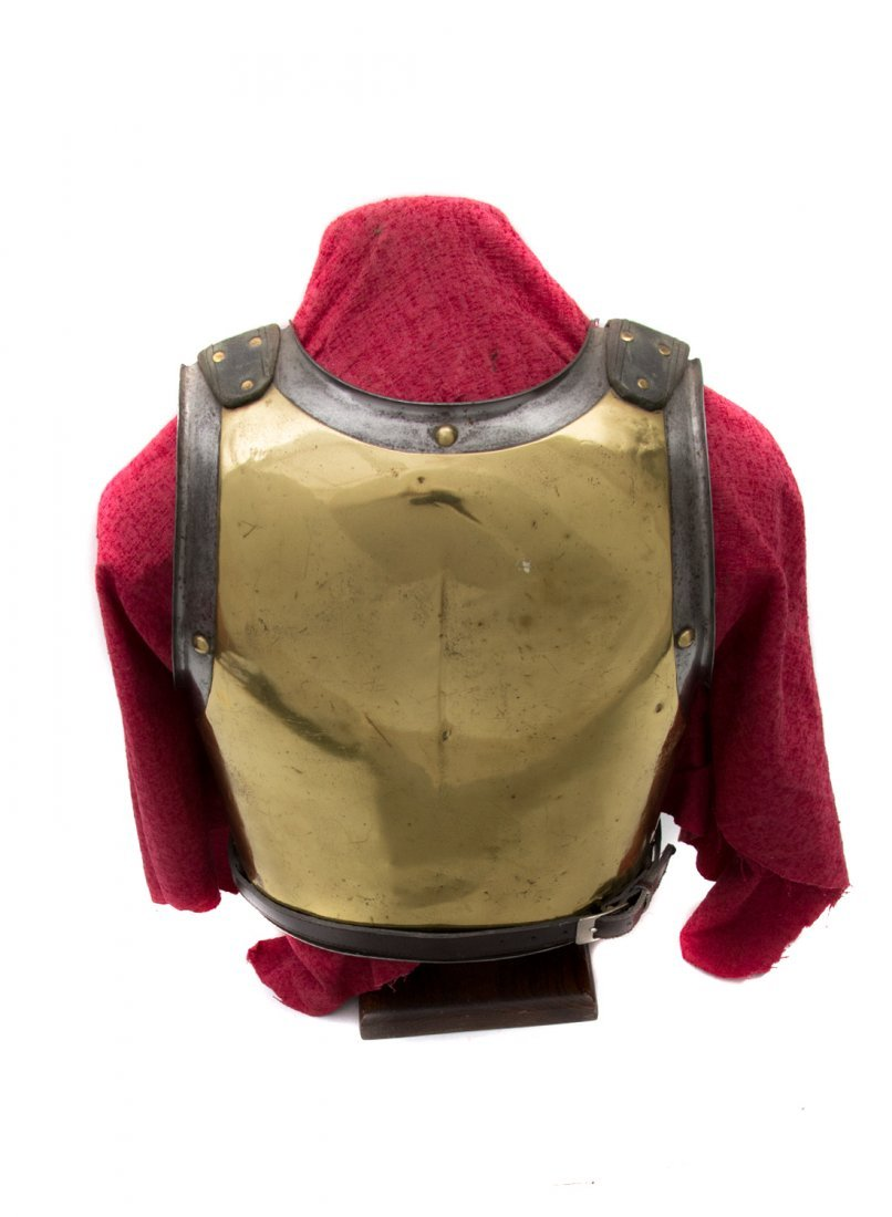 FRENCH CARABINIER OFFICER'S CUIRASS, SECOND EMPIRE - 3