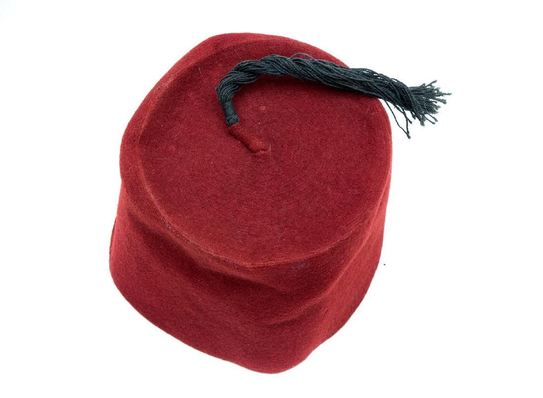 TURKISH FESKA HAT, 19TH C.
