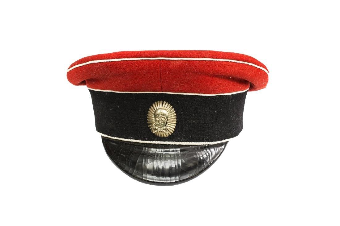 PEAK CAP OF KORNILOVSKY  REGIMENT WHITE Garde OFFICER - 2