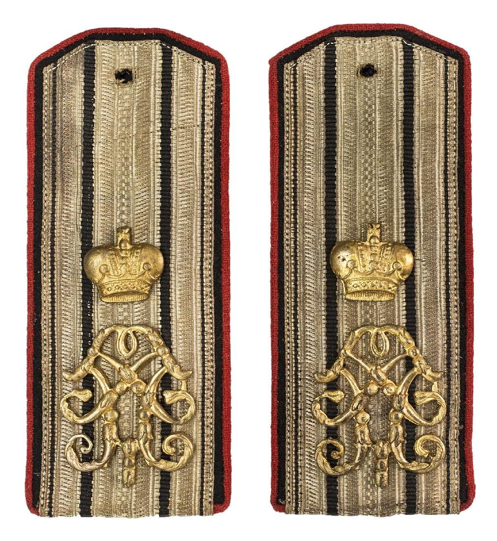 RUSSIAN IMPERIAL SHOULDER BOARDS