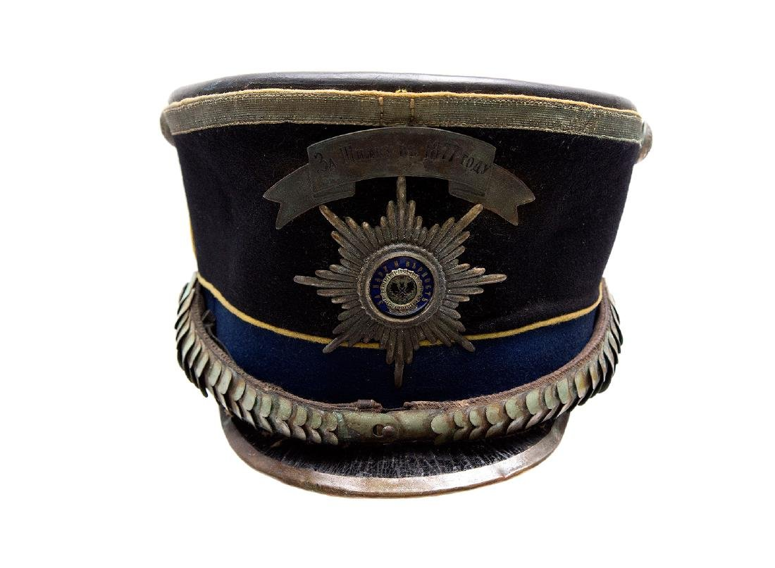 RARE IMPERIAL RUSSIAN OFFICER HAT, M. 1909