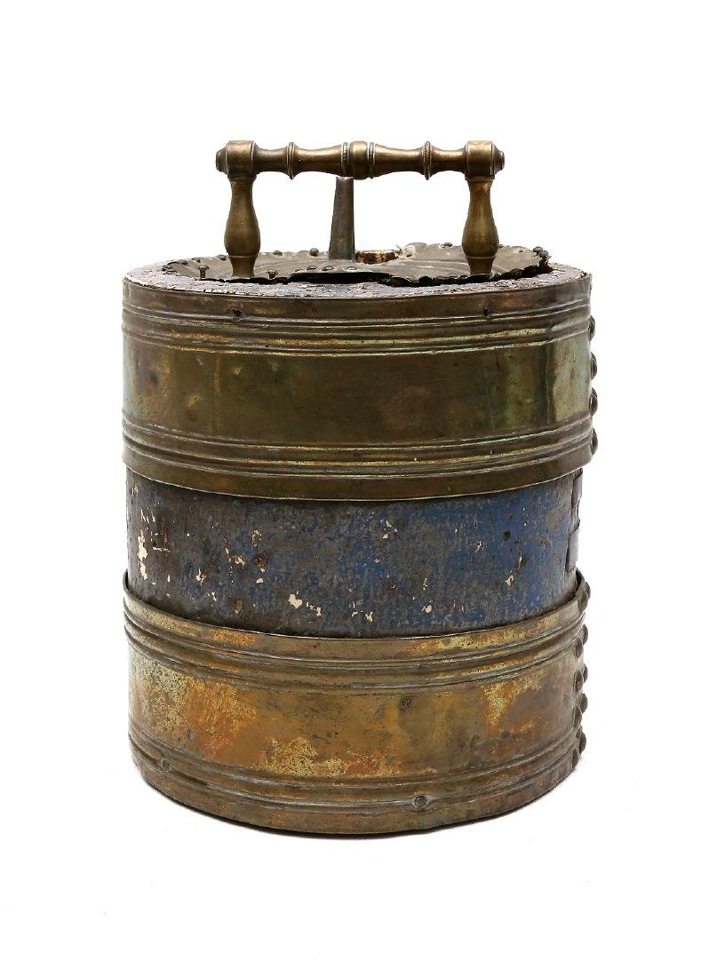 WESTERN EUROPEAN CANNON POWDER BUCKET, NAPOLEONIC WARS