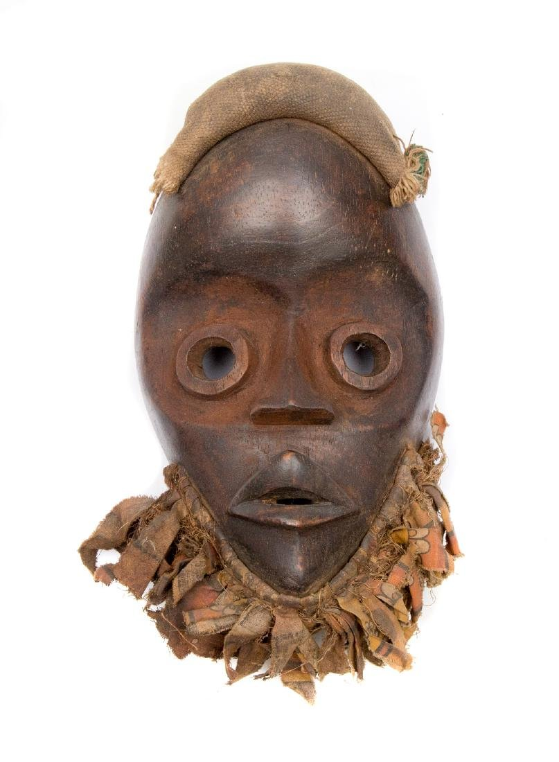 BEARDED DAN MASK, WOOD, CA. 1900
