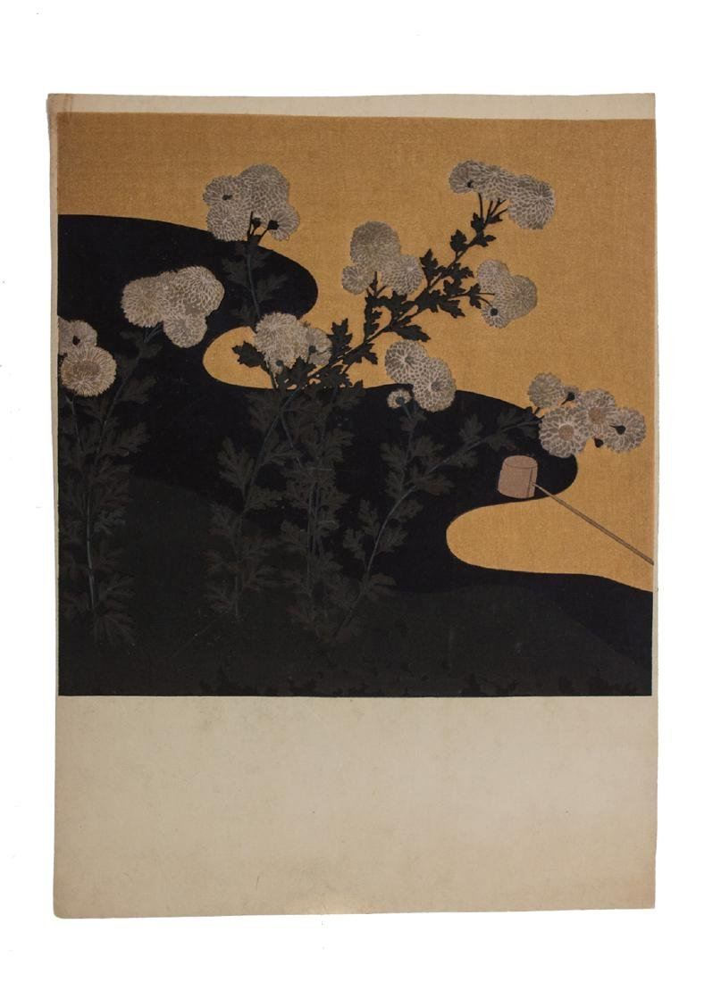 A SET OF TWO JAPANESE WOODBLOCK PRINTS