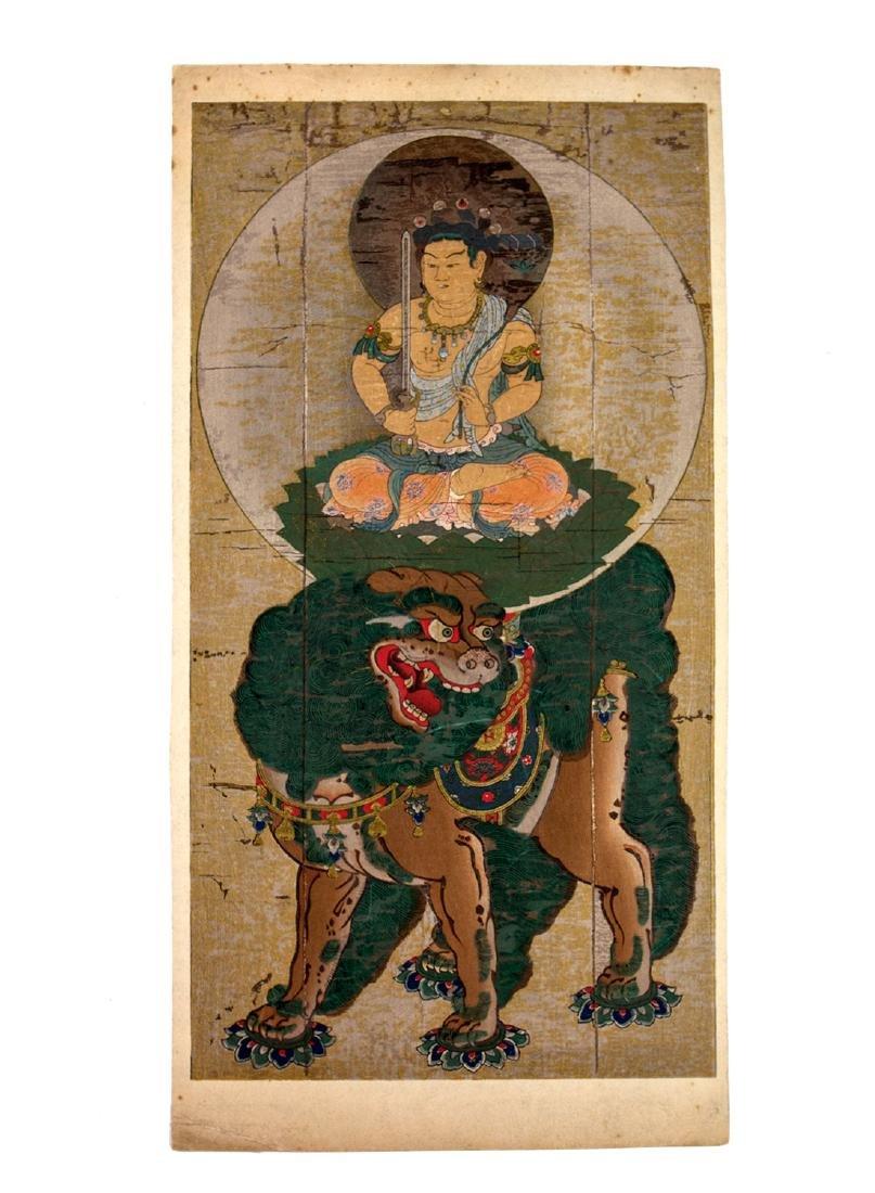 ANTIQUE CHINESE BUDDHIST PRINT