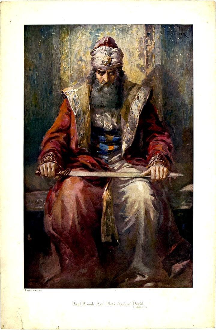 A SET OF THREE BIBLICAL PRINTS BY SIDNEY A. WESTON