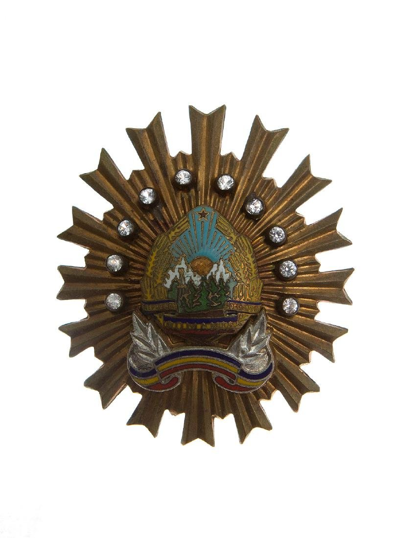 GROUP OF SOVIET ROMANIAN ORDERS AND DECORATION