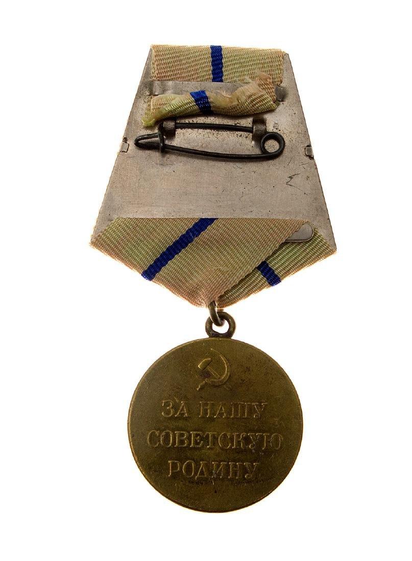 DEFENCE OF SEVASTOPOL SOVIET MEDAL - 2