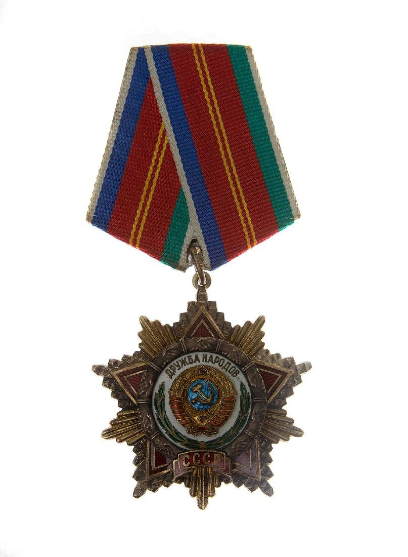 SOVIET ORDER OF THE FRIENDSHIP OF NATIONS