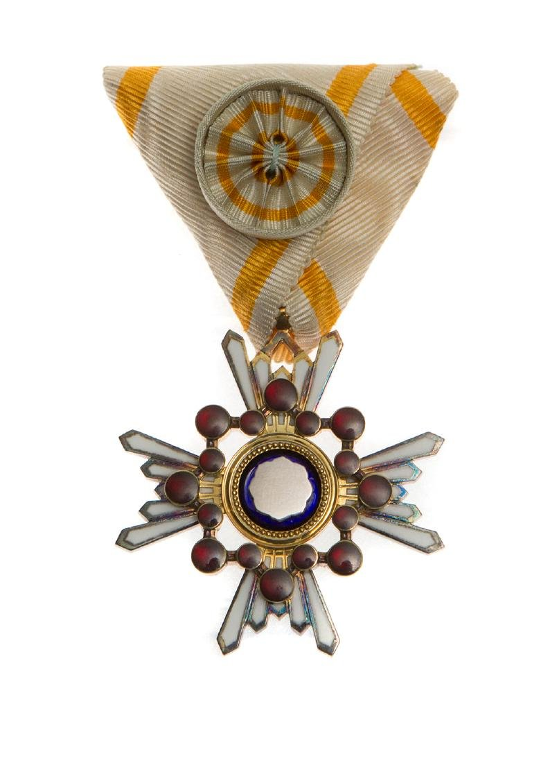 WWII JAPANESE MILITARY ORDER OF THE SACRED TREASURE 3RD
