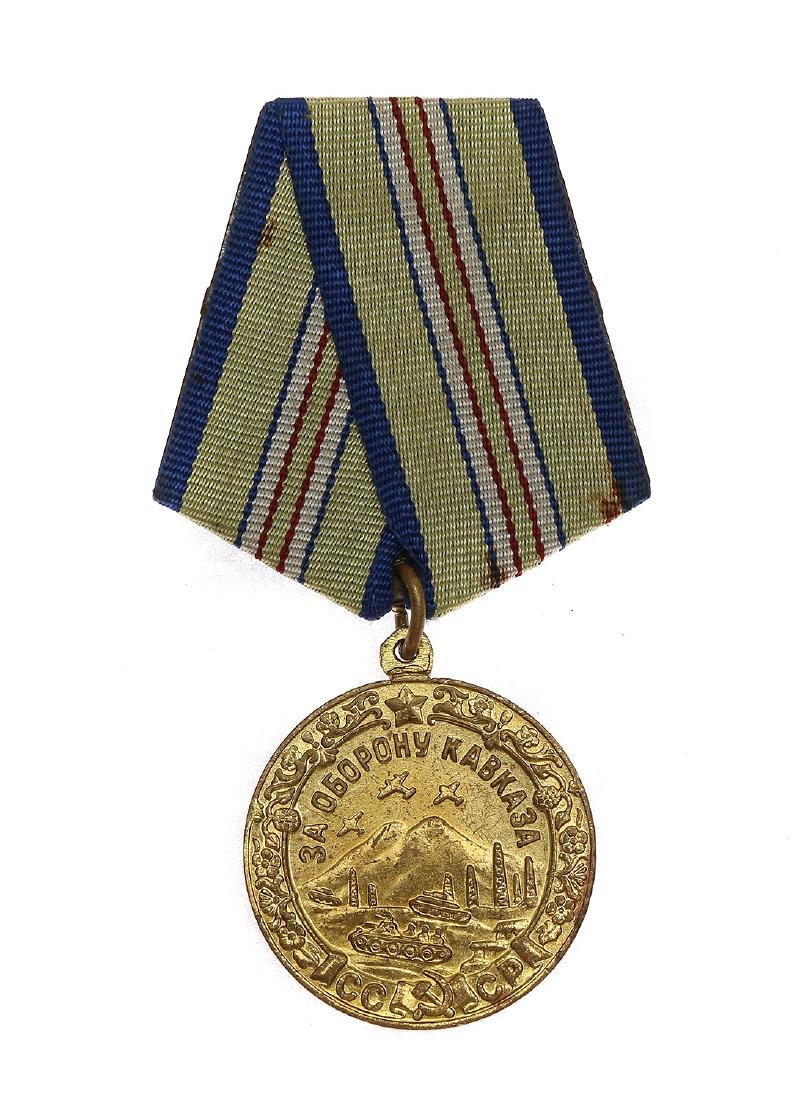 SOVIET MEDAL FOR THE DEFENSE OF CAUCUSES