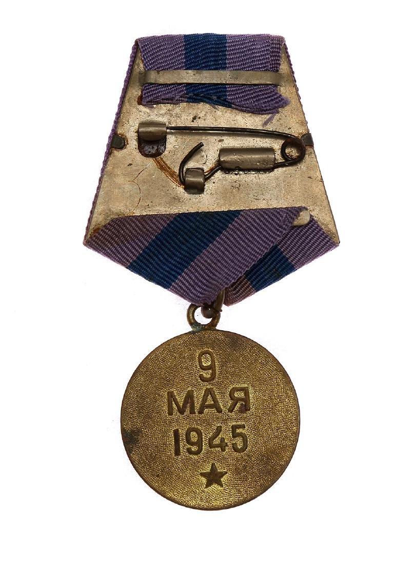 SOVIET MEDAL FOR THE LIBERATION OF PRAGUE - 2