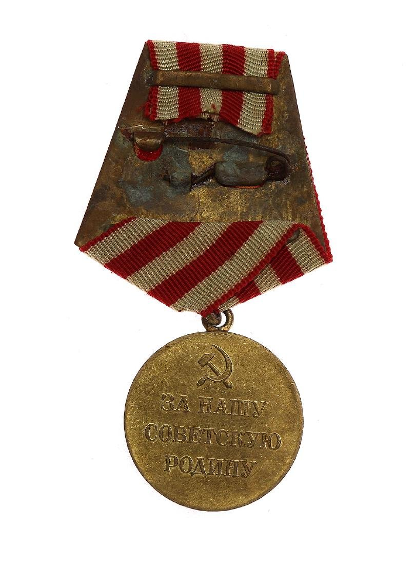 SOVIET WWII MEDAL THE DEFENSE OF MOSCOW - 2