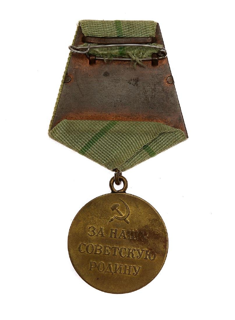 SOVIET WWII MEDAL FOR THE DEFENSE OF LENINGRAD - 2