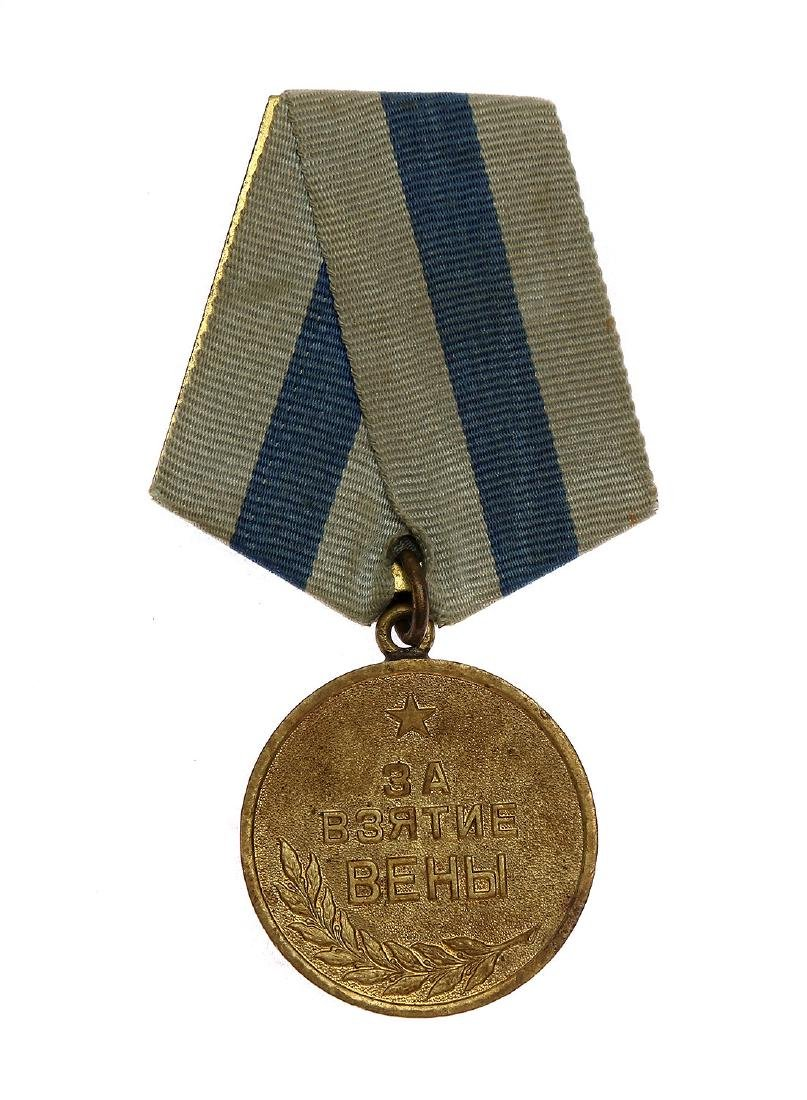 SOVIET WWII MEDAL FOR THE CAPTURE OF VIENNA