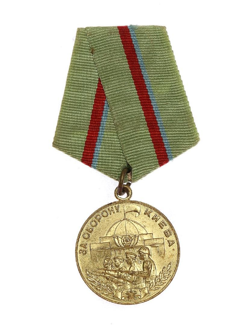 SOVIET WWII MEDAL FOR THE DEFENCE OF KIEV