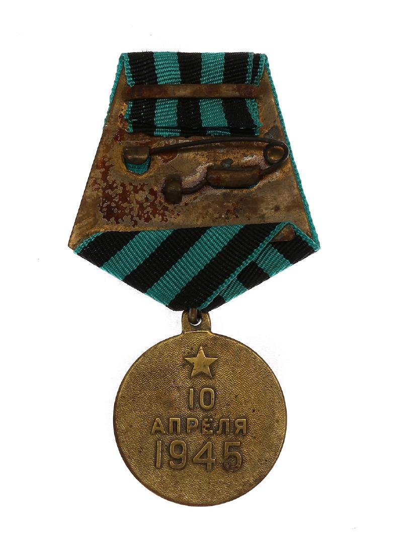 SOVIET WWII MEDAL FOR THE CAPTURE OF KÖNIGSBERG - 2