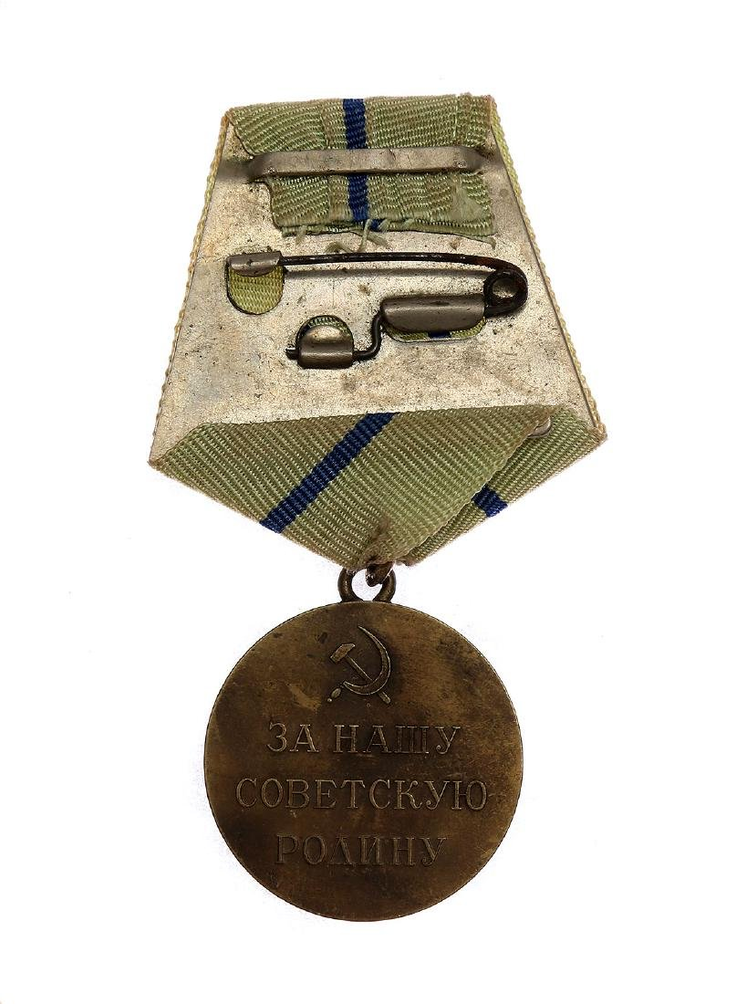 SOVIET WWII MEDAL FOR THE DEFENCE OF SEVASTOPOL - 2