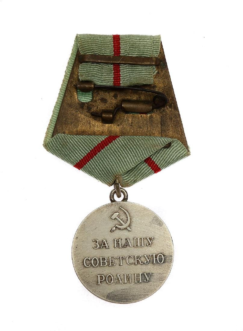 SOVIET WWII MEDAL TO A PARTISAN OF THE PATRIOTIC WAR - 2