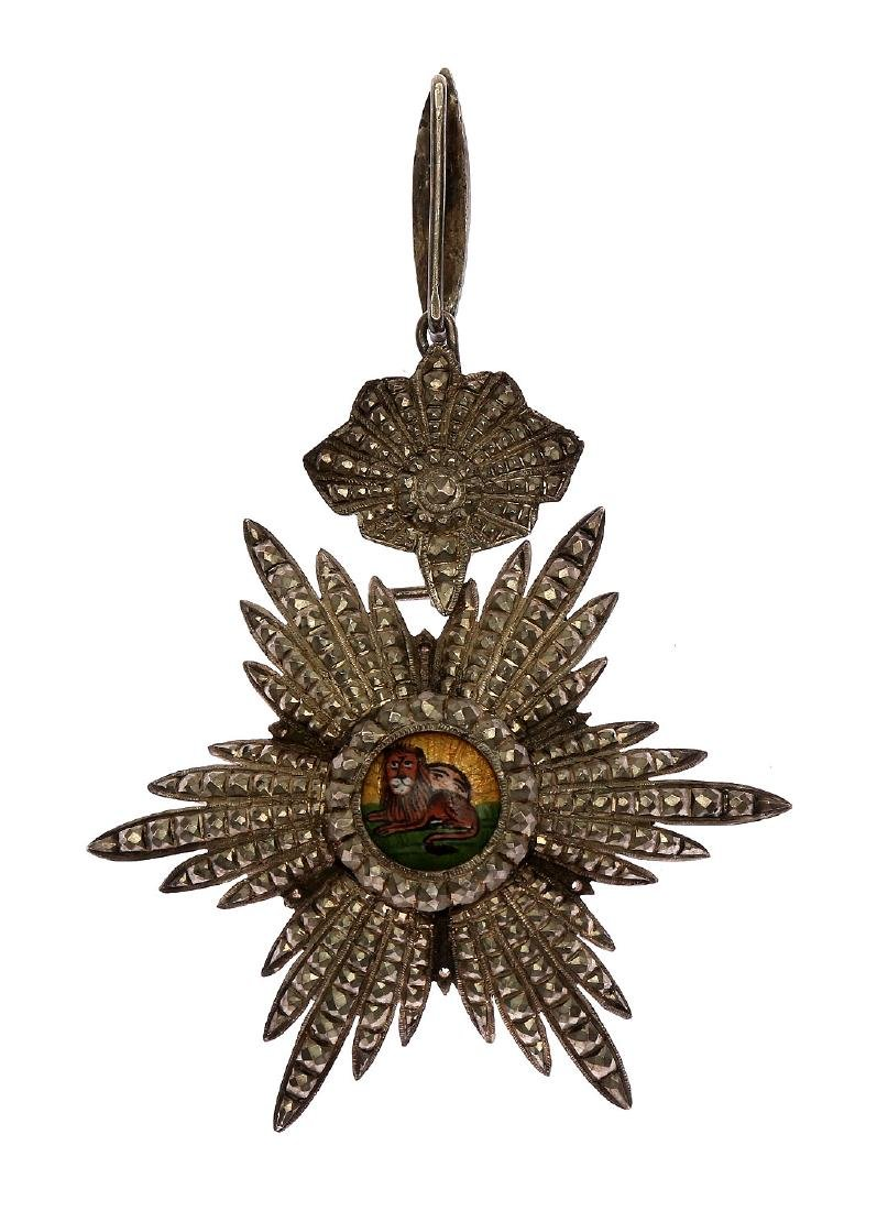 SILVER ORDER OF THE LION AND THE SUN, IRAN