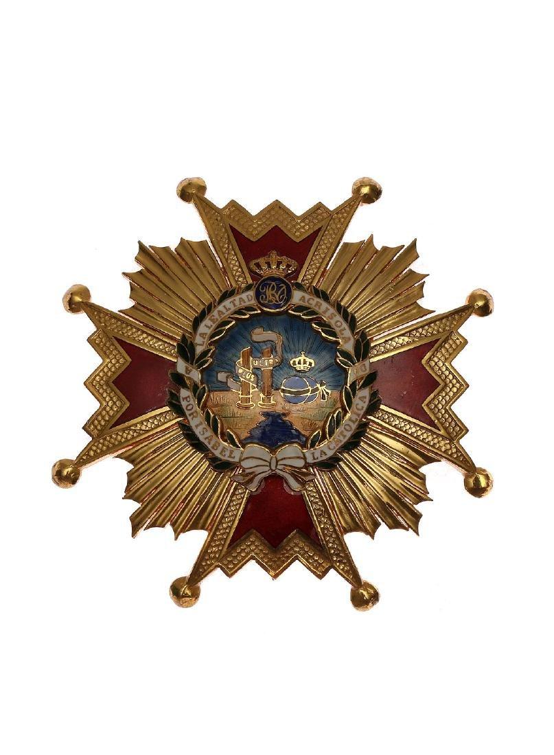 ORDER OF ISABELLA THE CATHOLIC, SPAIN
