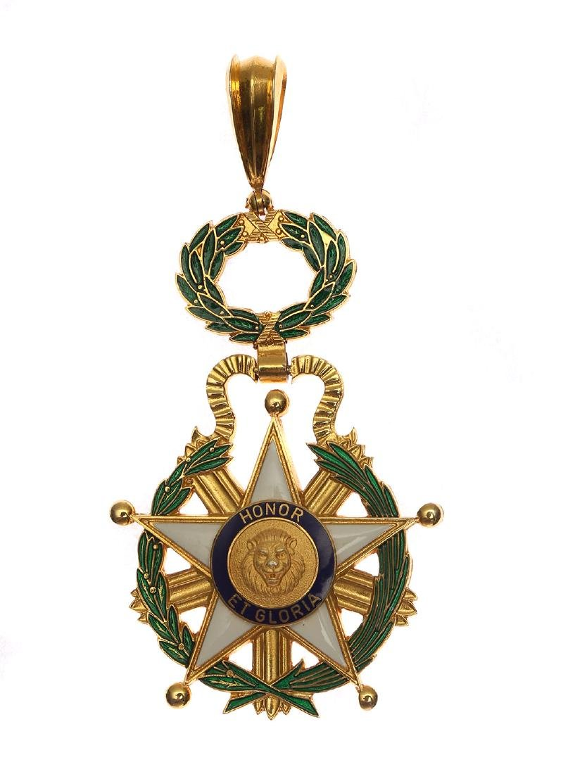 NATIONAL ORDER OF MERIT, COMMANDER (ORDEN NACIONAL DEL