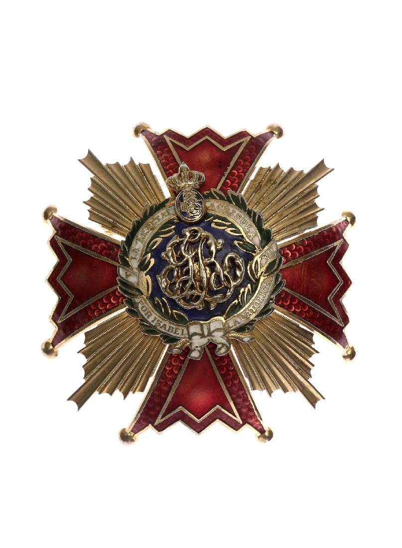 ORDER OF ISABELLA THE CATHOLIC, SPAIN