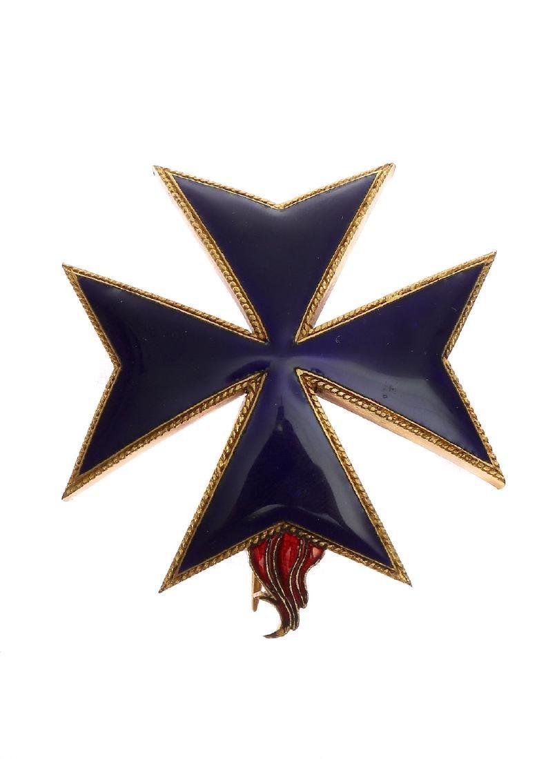 MILITARY KNIGHT ORDER OF SAINT BRIDGET OF SWEDEN