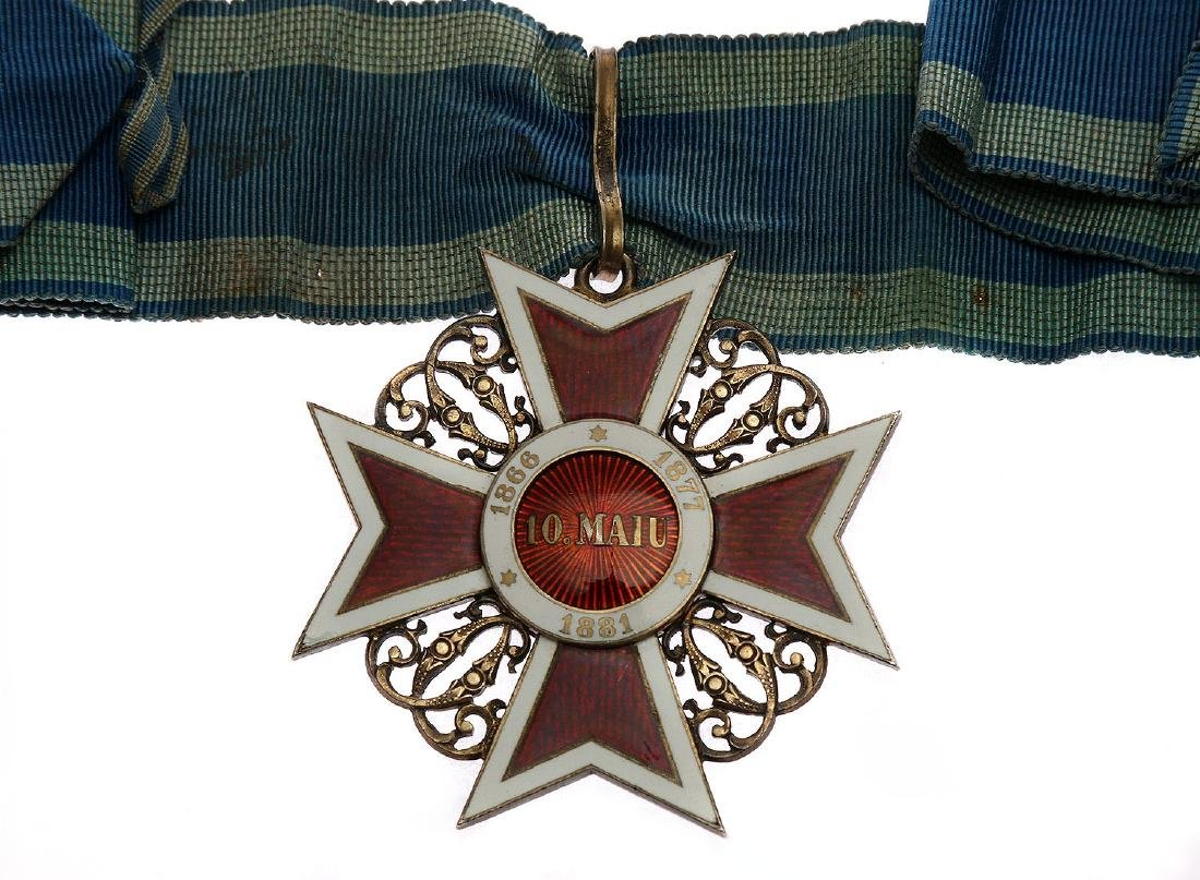 IMPERIAL ROMANIAN ORDER OF THE CROWN - 2
