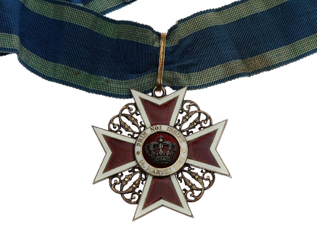 IMPERIAL ROMANIAN ORDER OF THE CROWN - 3